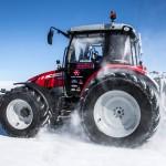 На Южном полюсе наконец завершилась проверка новейшего трактора Massey Ferguson
