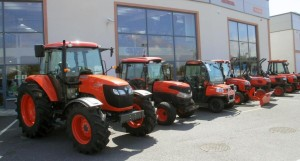 Самый мощный трактор в мире будет представлен компанией Kubota