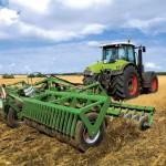 Компания Kverneland создала дисковую борну для моделей тракторов, мощность которых достигает 90 л.с.